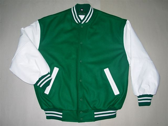 Letterman jacket embroidery « origami
